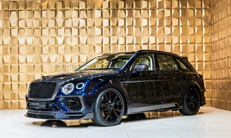 Bentayga widebody
